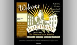 Baltimore City Web Portal