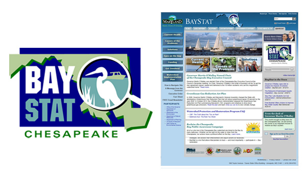 baystat logo and website