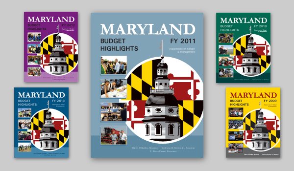 Colors and Covers: Maryland's Budget Books