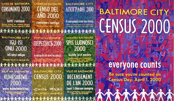 census posters