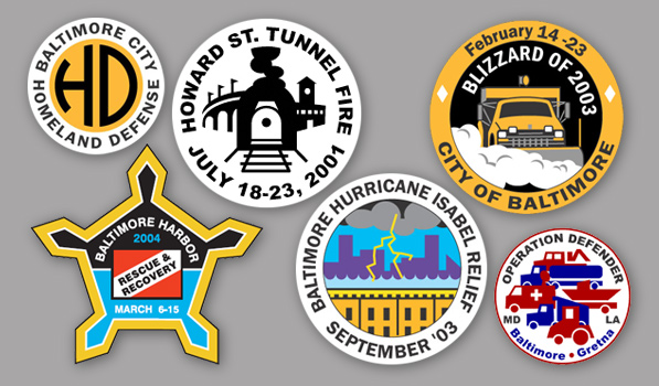 Commemorative City Pins