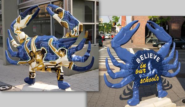 crabtown public art