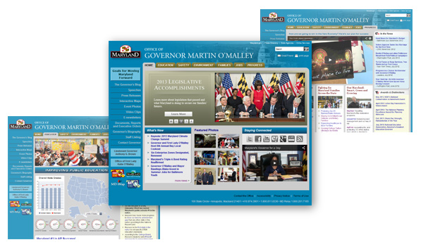 Governor Website