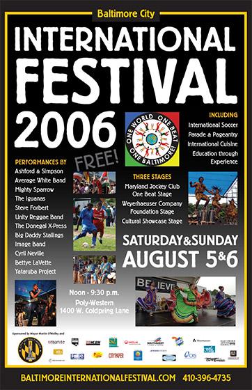 International Festival poster