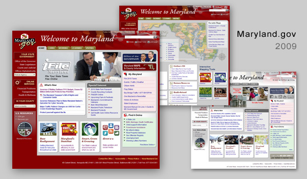 2009 maryland.gov portal