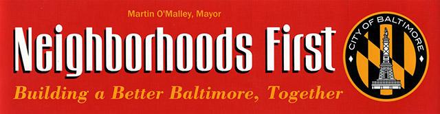 Neighborhoods First bumber sticker