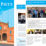St. Paul's Baltimore Illustration and Website