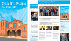 Old St. Paul's illustration and website
