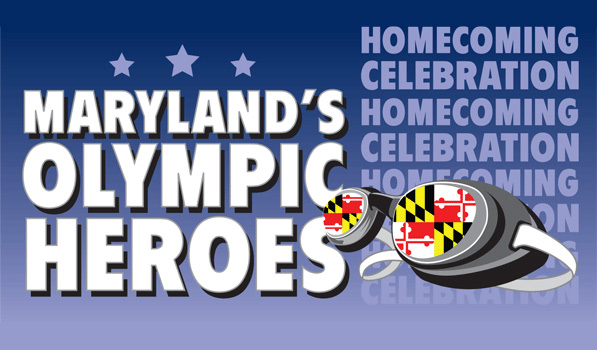 Maryland's Olympic Heroes Logo