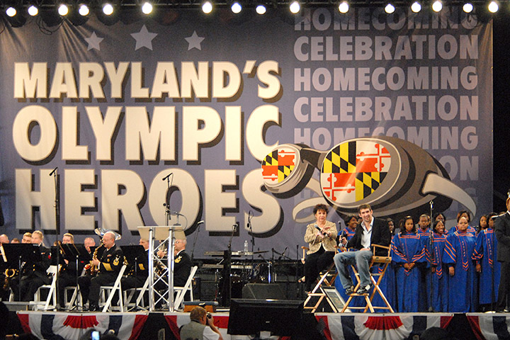 Olympic Heroes Stage
