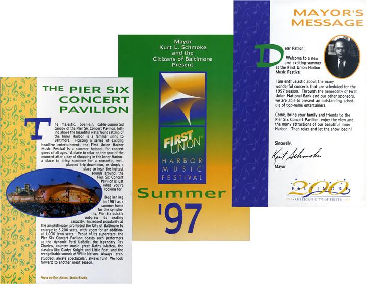 Pier 6 Concert Series Program