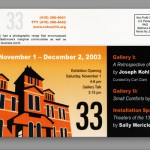 school 33 art center invitation