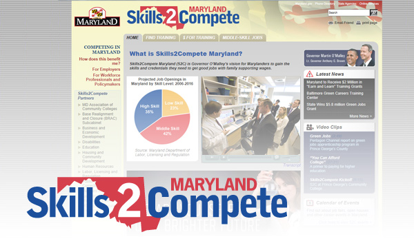 skills2compete branding and site