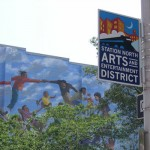 Station North Arts District Signs