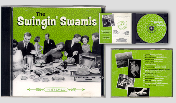 swingin' swamies cd