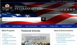 MD veterans website