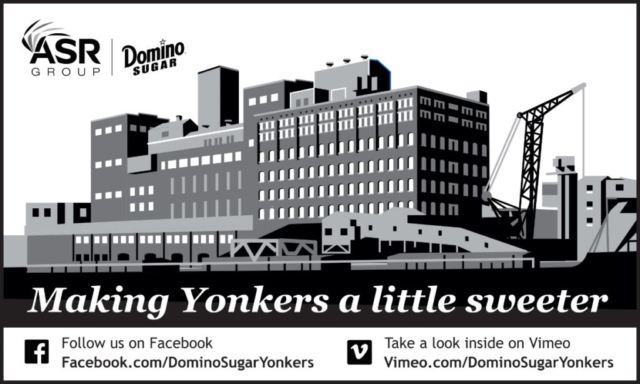 Yonkers refinery greyscale ad