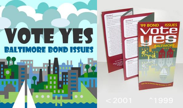 bond campaign literature