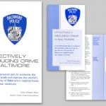 Crime Plan and Executive Summary