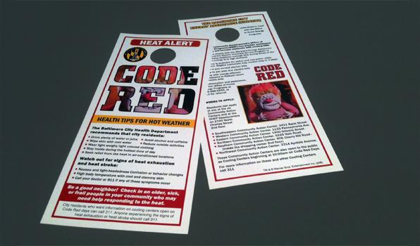 code red door-hangers