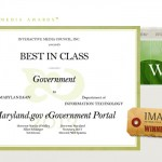 Maryland.gov Wins Best in Class 2013 Interactive Media Award