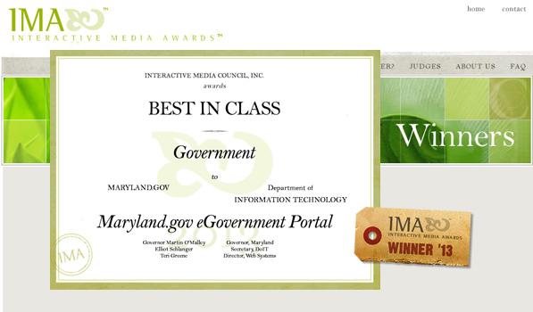 Interactive Media Award